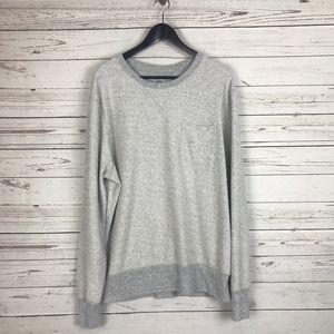 {J.Crew} Knit Goods Reverse Terry Sweatshirt